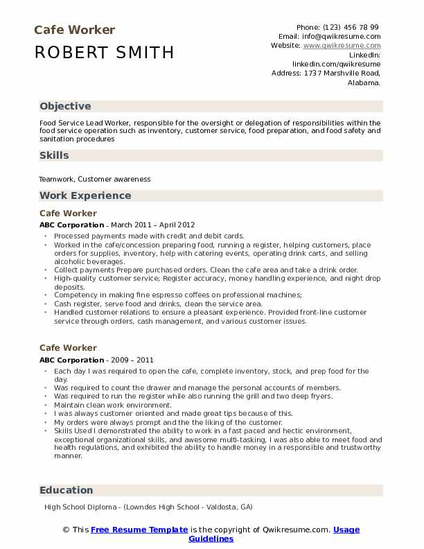 worker resume samples qwikresume customer service pdf order picker the fs of writing lpn Resume Cafe Customer Service Resume