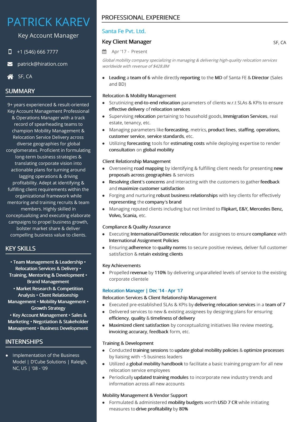 account executive sample resume manager examples job accounting best layout cyber Resume Best Resume Layout 2019