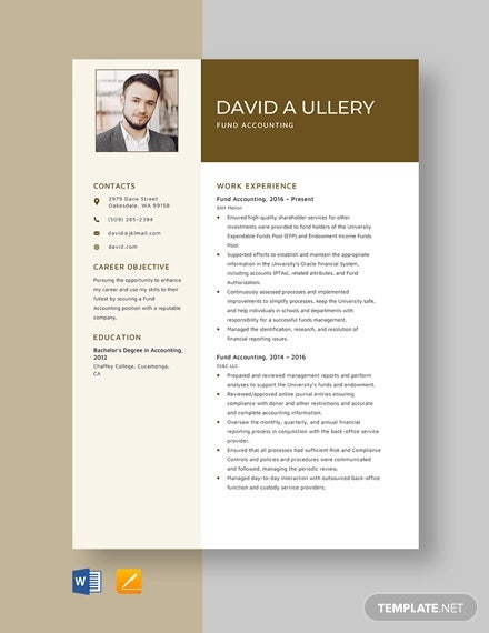 accounting resume templates pdf free premium examples fund template bls certification on Resume Accounting Resume Examples 2016