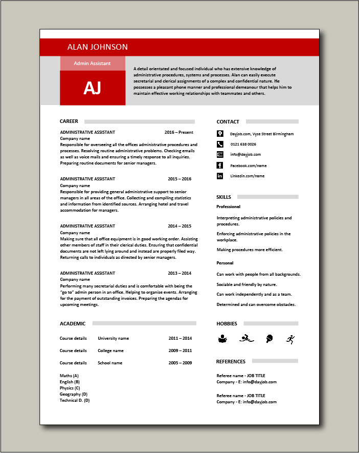 administrative assistant resume template free examples for cv should you always include Resume Free Resume Examples For Administrative Assistant