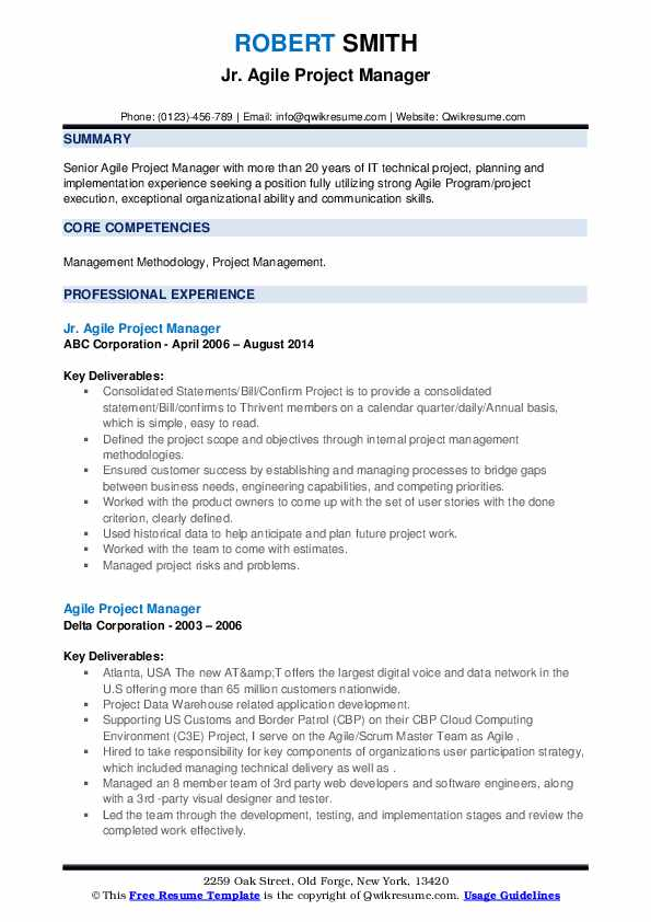 agile project manager resume samples qwikresume program pdf college student template Resume Agile Program Manager Resume
