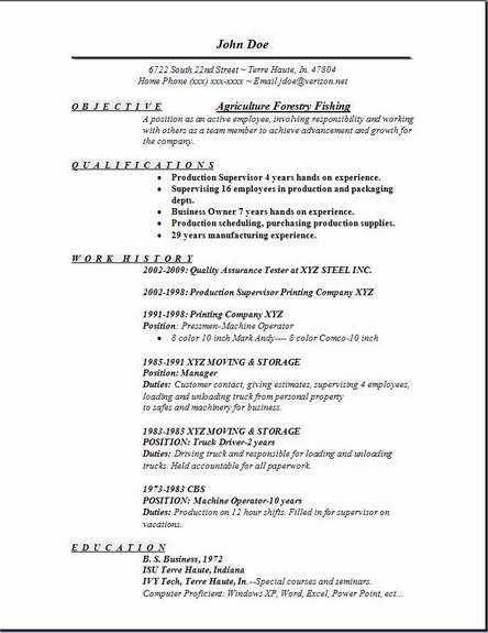 agriculture forestry fishing resume occupational examples samples free edit with word job Resume Forestry Resume Example