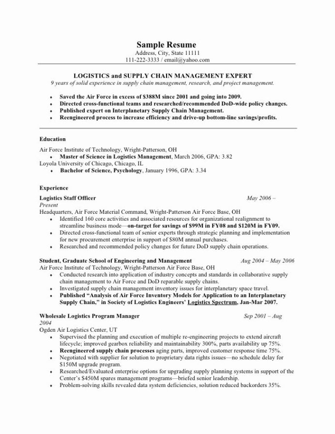 air force position paper template fresh good for military resumes resume free examples Resume Air Force Address For Resume