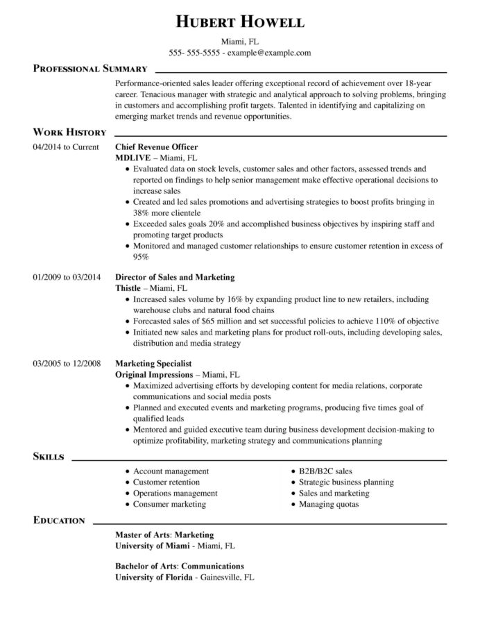amazing finance resume examples livecareer objective for chief revenue officer executive Resume Objective For Finance Resume