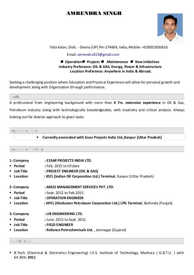 amrendra singh resume essar career opportunities post singhs cashier objective skills and Resume Essar Career Opportunities Post Resume