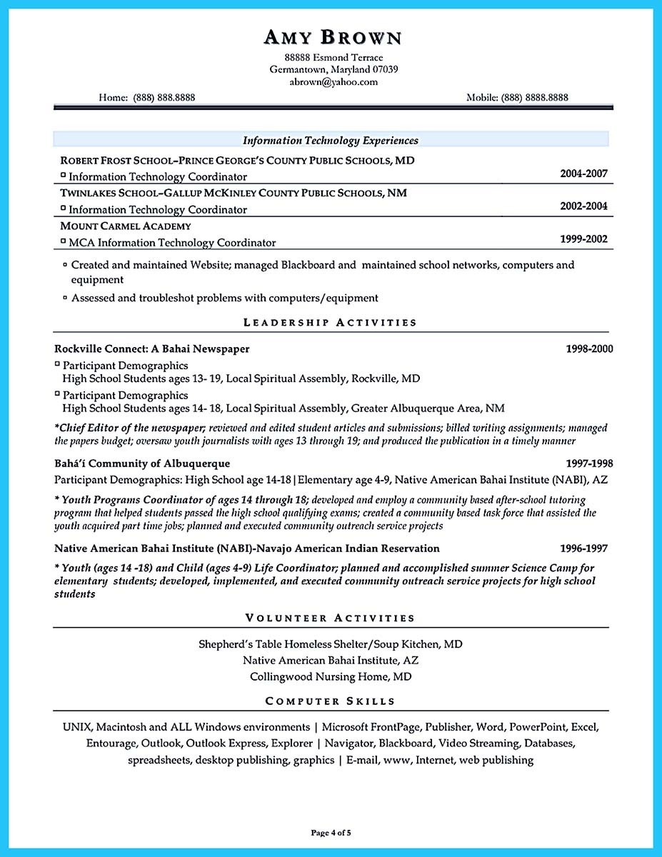 an effective sample of assistant principal resume objective for wintel engineer Resume Objective For Assistant Principal Resume