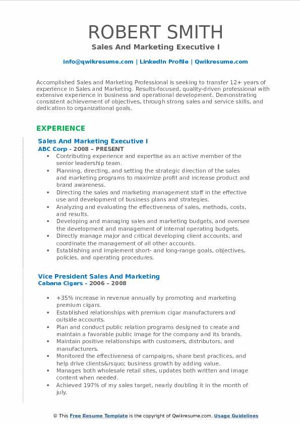 and marketing executive resume samples qwikresume sample format for pdf examples customer Resume Sample Resume Format For Marketing Executive