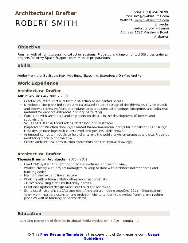 architectural drafter resume samples qwikresume autocad drafting pdf study abroad on Resume Autocad Drafting Resume
