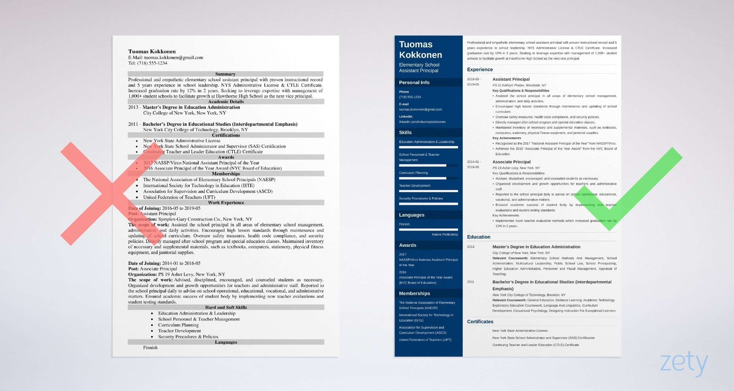 assistant principal resume template guide examples objective example university of Resume Principal Resume Objective Examples