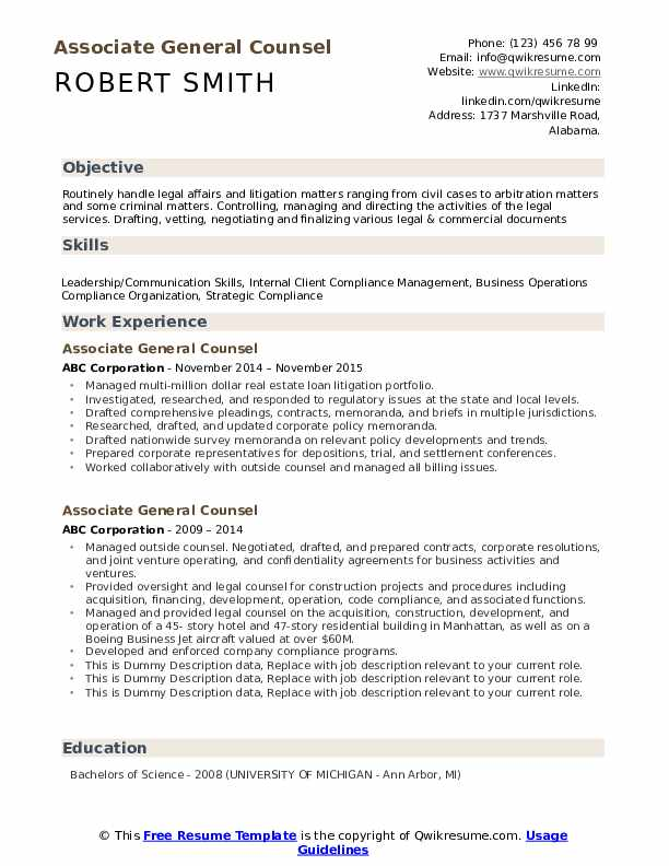 associate general counsel resume samples qwikresume transactional attorney pdf crew Resume Transactional Attorney Resume