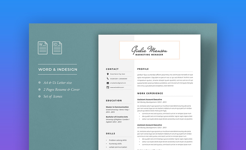 attractive eye catching resume cv templates with stylish aesthetics beautiful and Resume Eye Catching Resume Templates