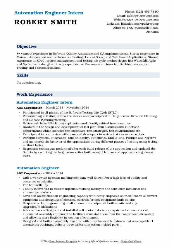 automation engineer resume samples qwikresume electrical pdf study abroad on examples of Resume Electrical Automation Engineer Resume
