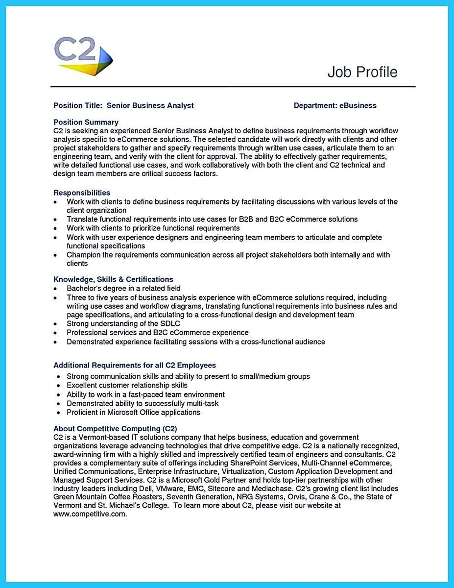 awesome create your astonishing business analyst resume and gain the position check more Resume Ecommerce Analyst Resume