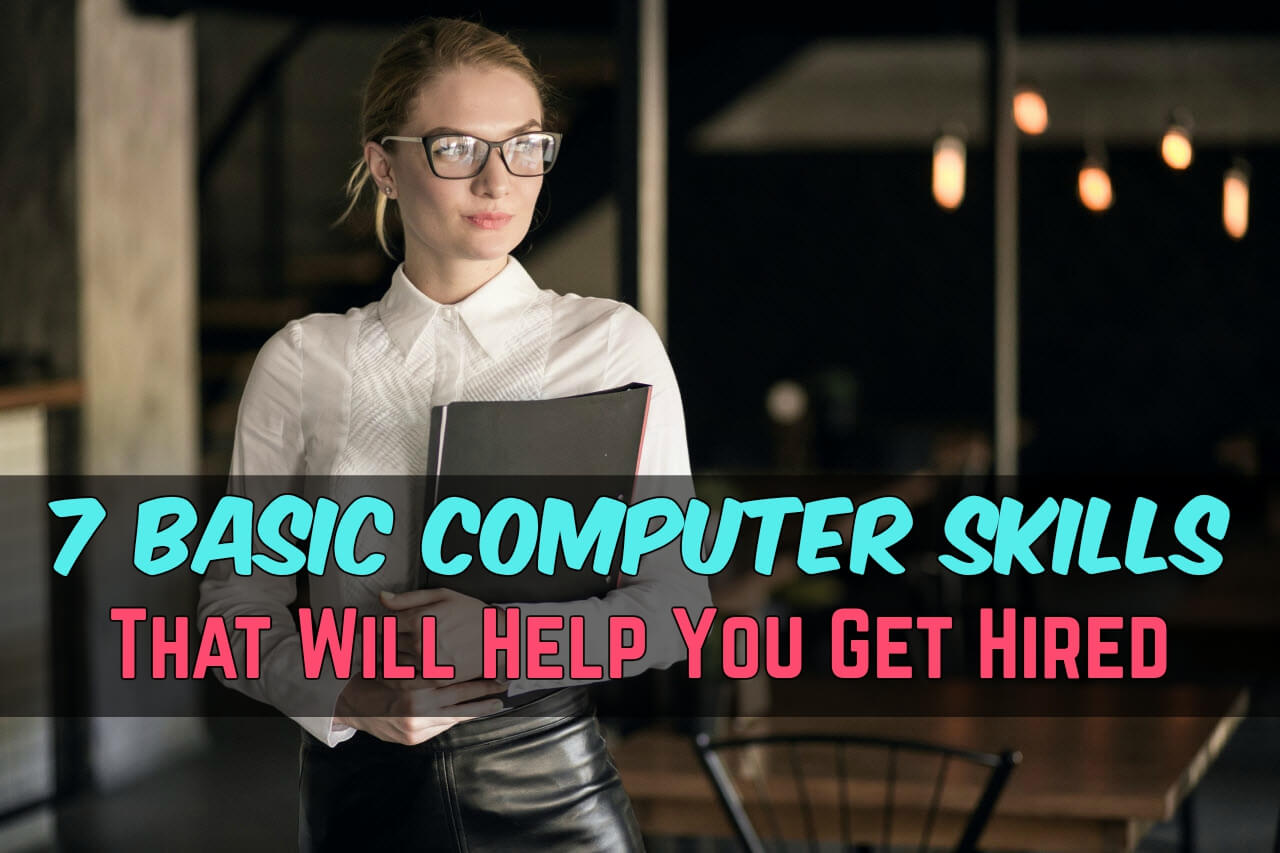 basic computers skills that are must when entering job market common computer for resume Resume Common Computer Skills For Resume