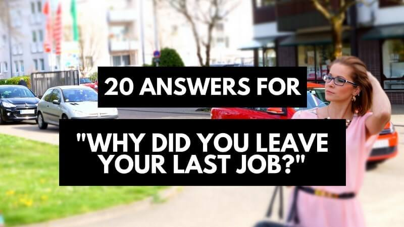best answers for did you leave your last job good reasons leaving career sidekick current Resume Leaving Current Job Off Resume