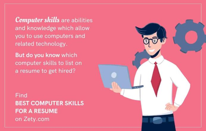 best computer skills for resume software employers good with computers on football coach Resume Good With Computers On Resume