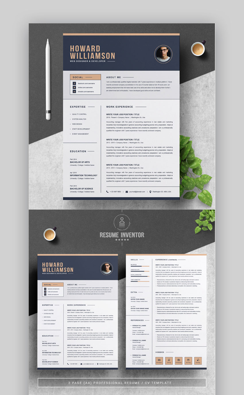 best contemporary resume cv templates new modern styles for template gr10 software Resume Contemporary Modern Resume Template