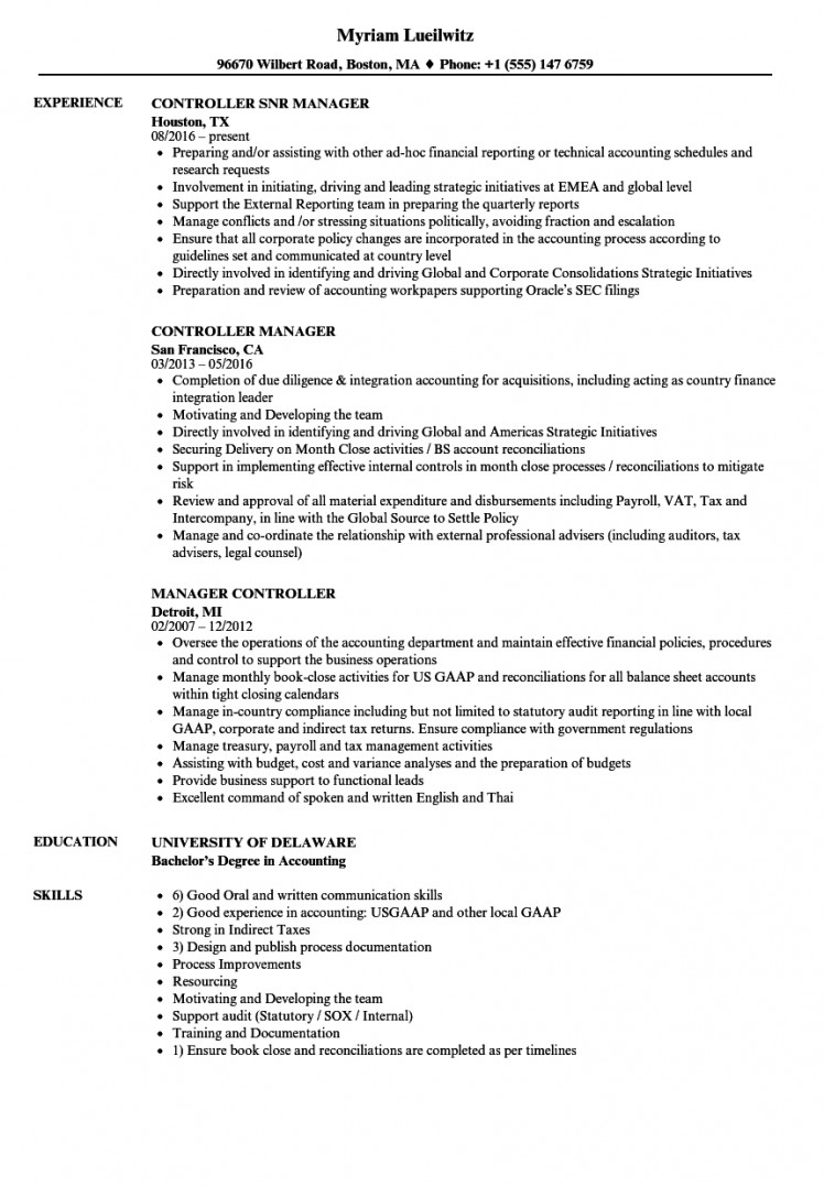 best controller resume samples template builder example intercompany sample manager Resume Intercompany Resume Sample