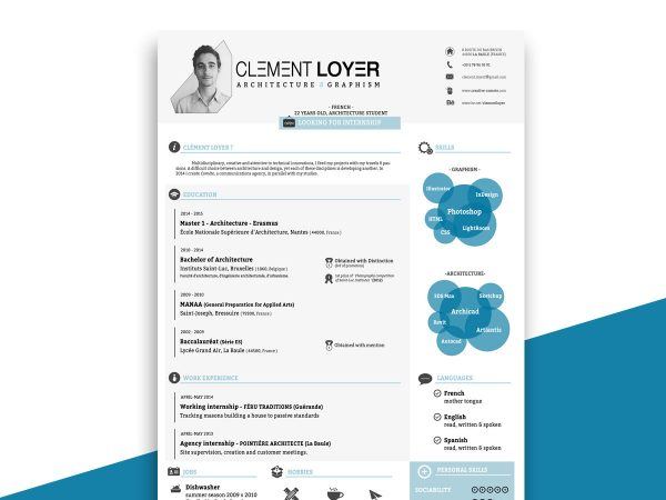 best free infographic resume tempaltes resumekraft timeline template 600x450 the most Resume Infographic Resume Timeline