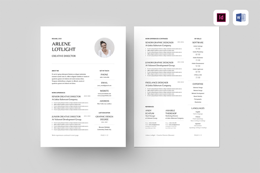 best free ms word resume cv templates for mac informal samples skills rating web services Resume Informal Resume Samples