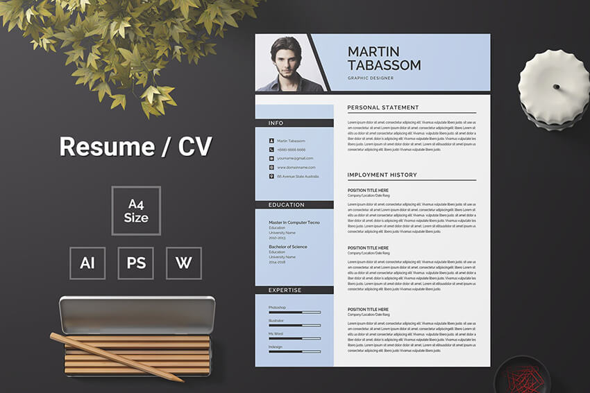 best free ms word resume cv templates for mac one template and example format executive Resume One Page Resume Template Word Free