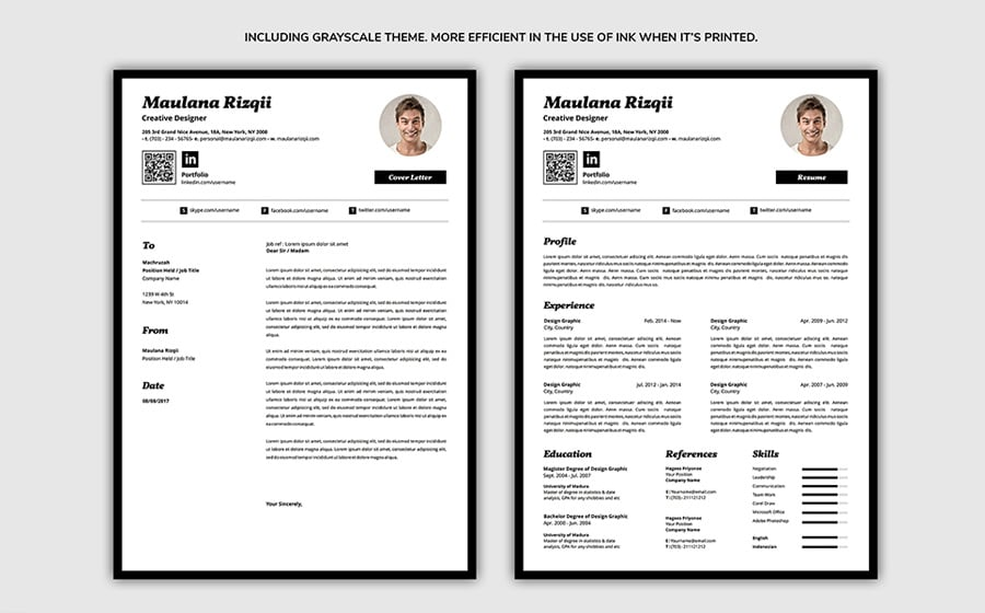 best free printable resume templates creative and professional template objective portion Resume Creative And Professional Resume
