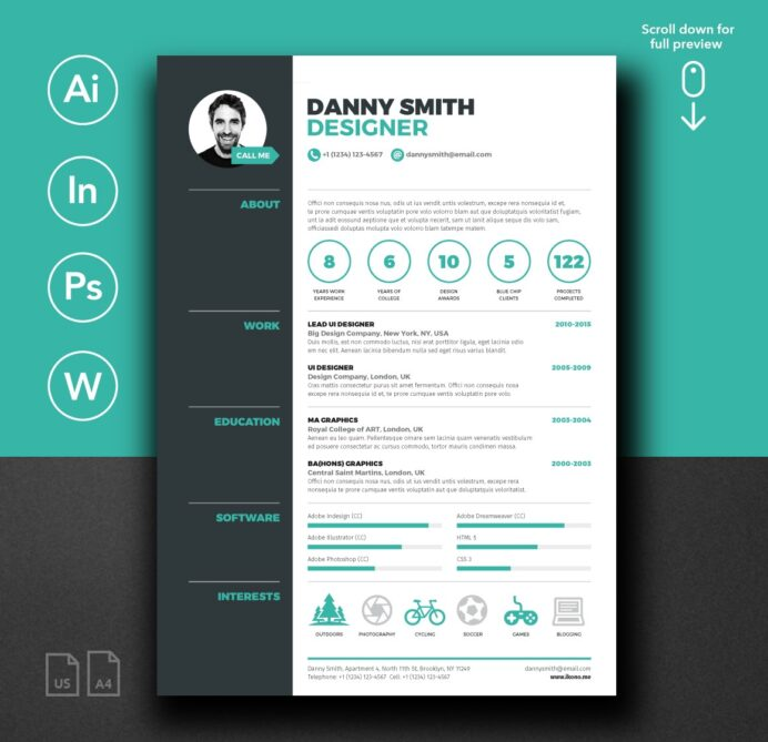 free cv template for word career reload microsoft powerpoint resume templates helen apple Resume Microsoft Powerpoint Resume Templates