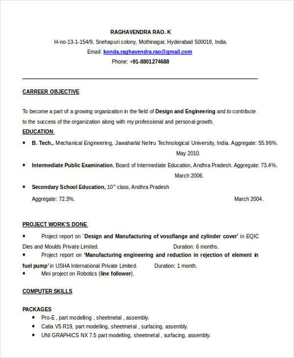 best fresher resume templates pdf free premium skill headings for engineering graduate Resume Skill Headings For Resume