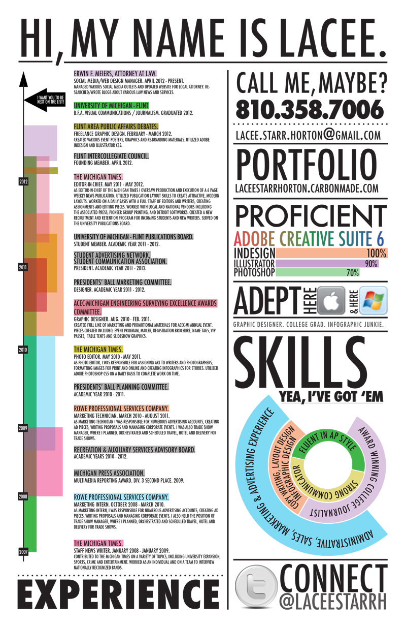 best infographic resumes monster resume timeline lacee2 the most professional template Resume Infographic Resume Timeline