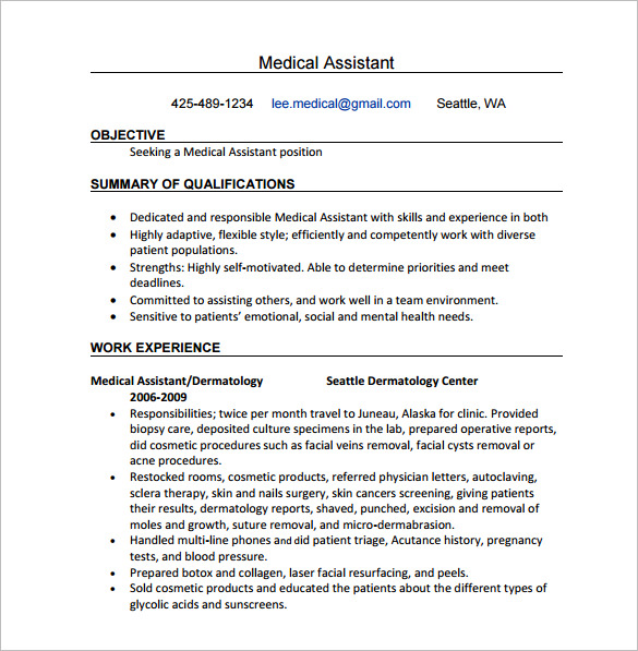 best medical assistant sample resume templates wisestep word certified now fees Resume Medical Assistant Resume Templates Word