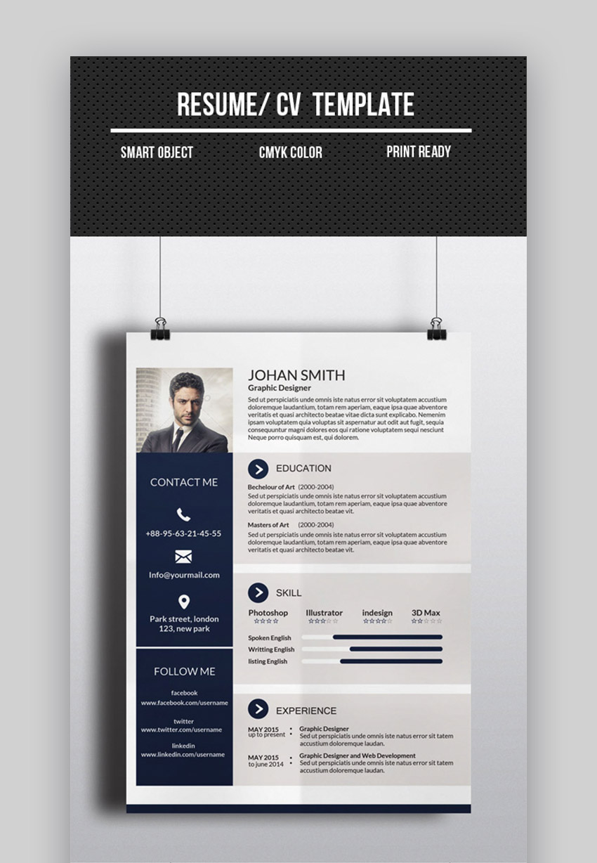 best one resume templates simple to use format examples cv template investment banking Resume Best One Page Resume Examples