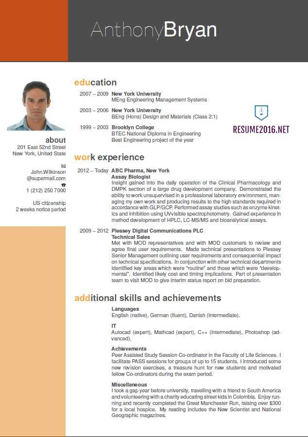 best resume format which one to choose in for freshers good examples latest bartender Resume Latest Resume Format 2017 For Freshers
