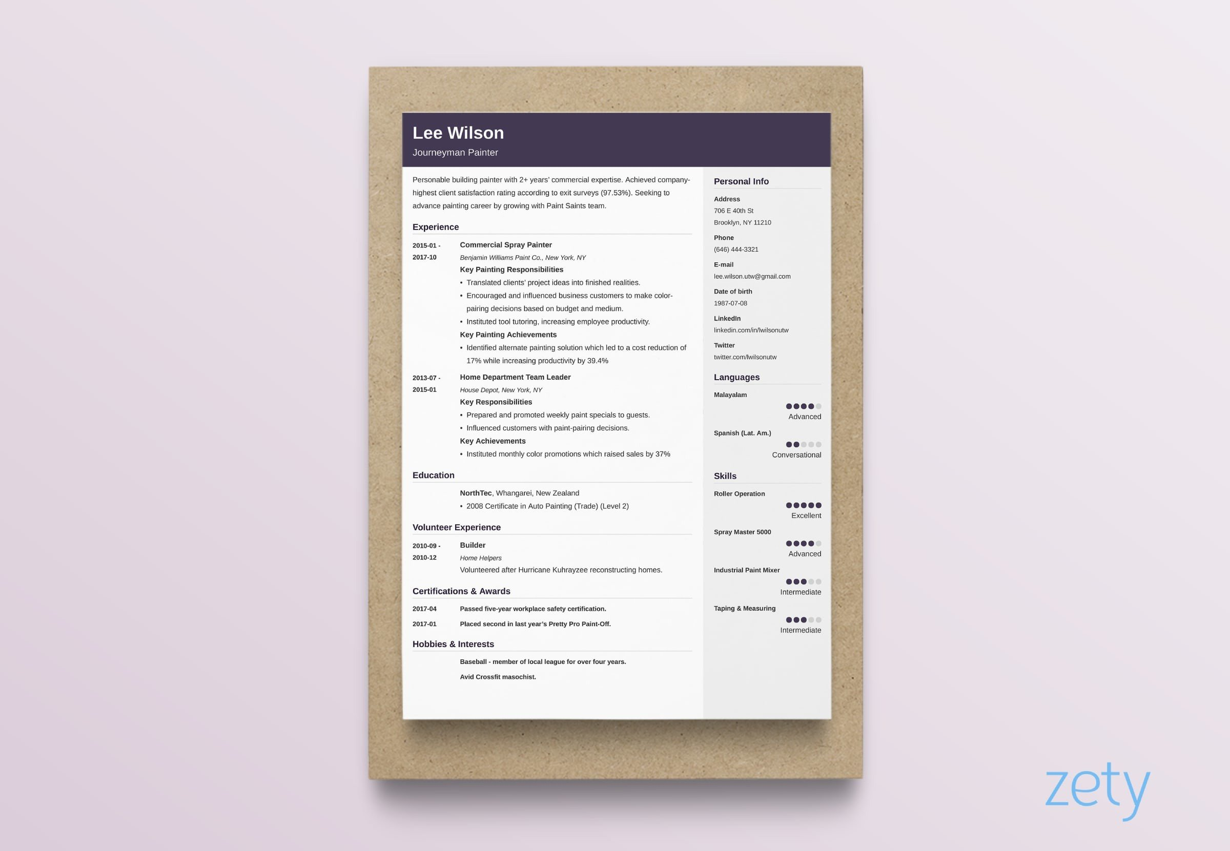 best resume layouts examples from idea to design format and layout cubic chronological Resume Resume Format And Examples
