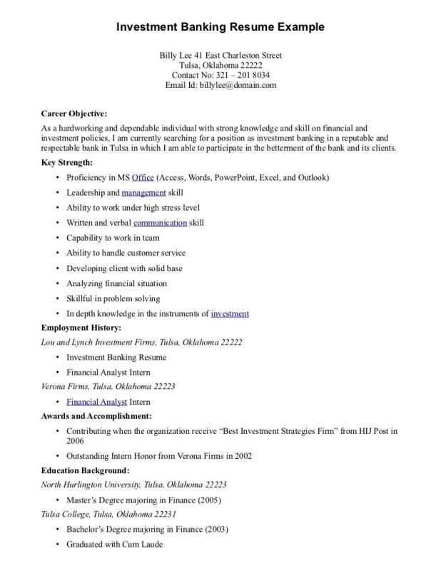 best resume objectives good objective for statement bank job colors reverse chronological Resume Resume Objective For Bank Job