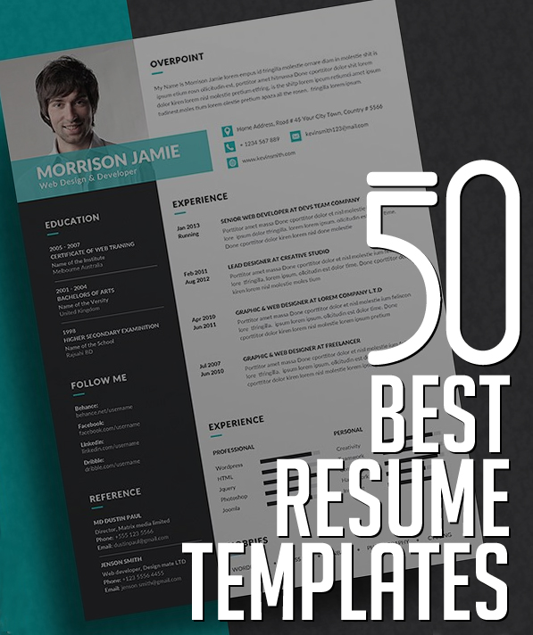 best resume templates design graphic junction typography template certified professional Resume Typography Resume Template