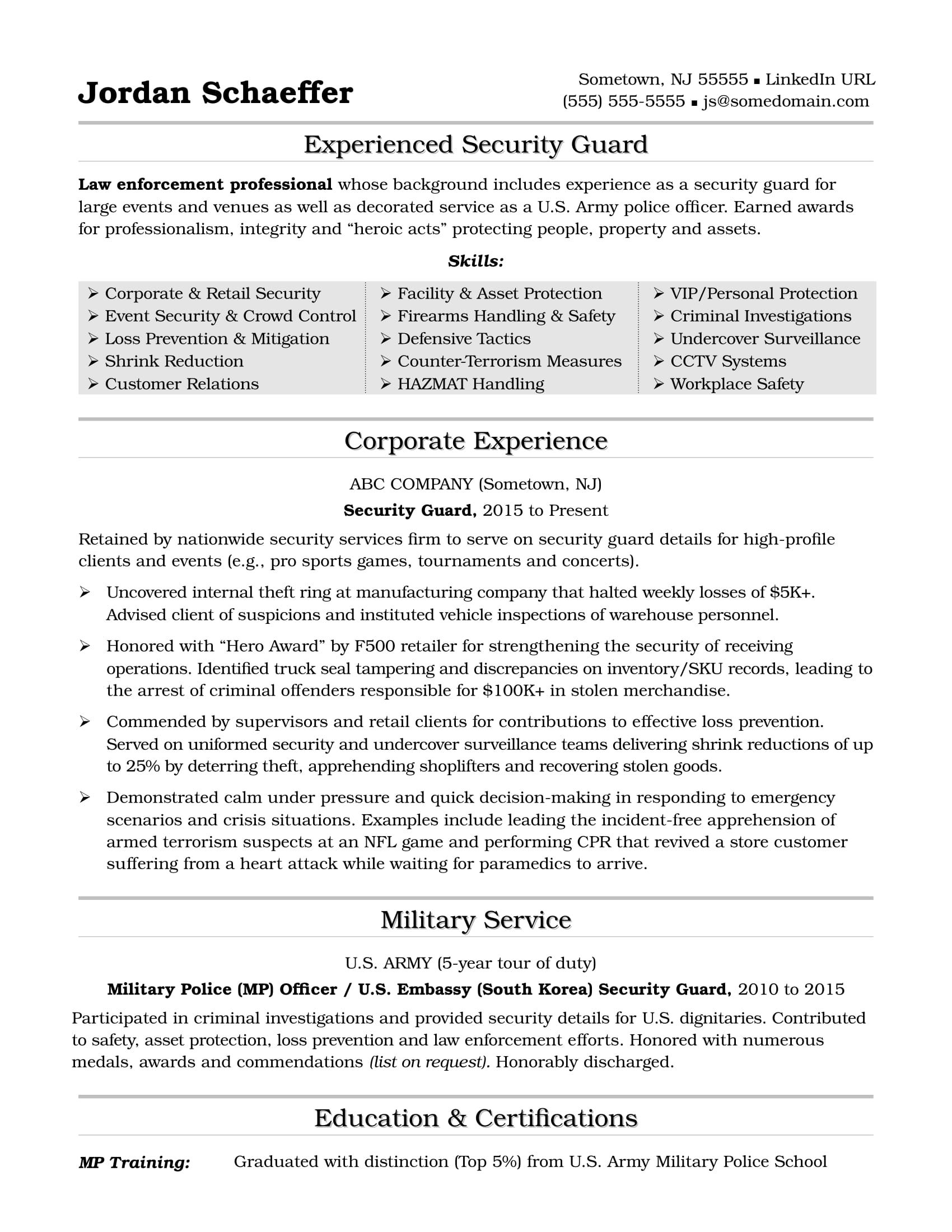 best resume writing services in area writers military volunteer targeted objective Resume Military Resume Writers