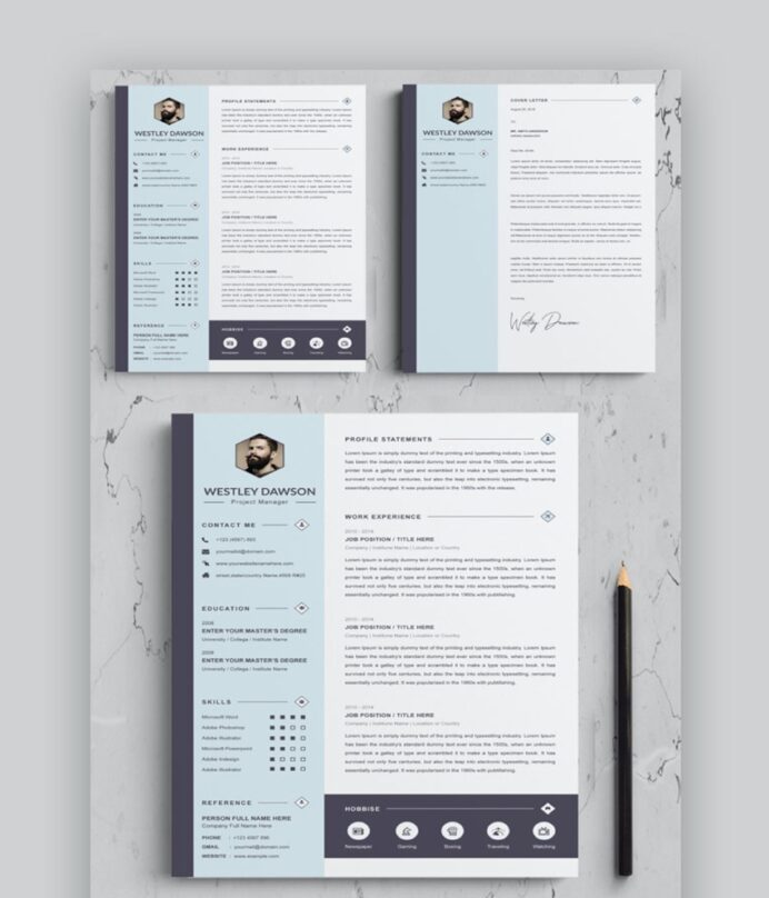 best web graphic designer resume cv templates examples for typography template clean cpa Resume Typography Resume Template