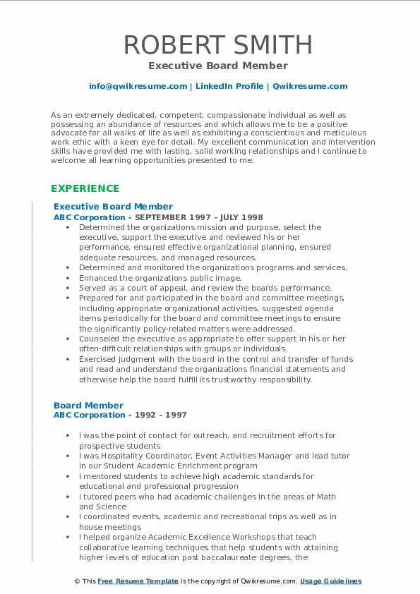 board member resume samples qwikresume for volunteer position pdf microsoft engineer Resume Resume For Volunteer Board Position