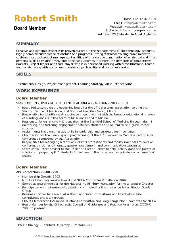 board member resume samples qwikresume for volunteer position pdf summary examples human Resume Resume For Volunteer Board Position