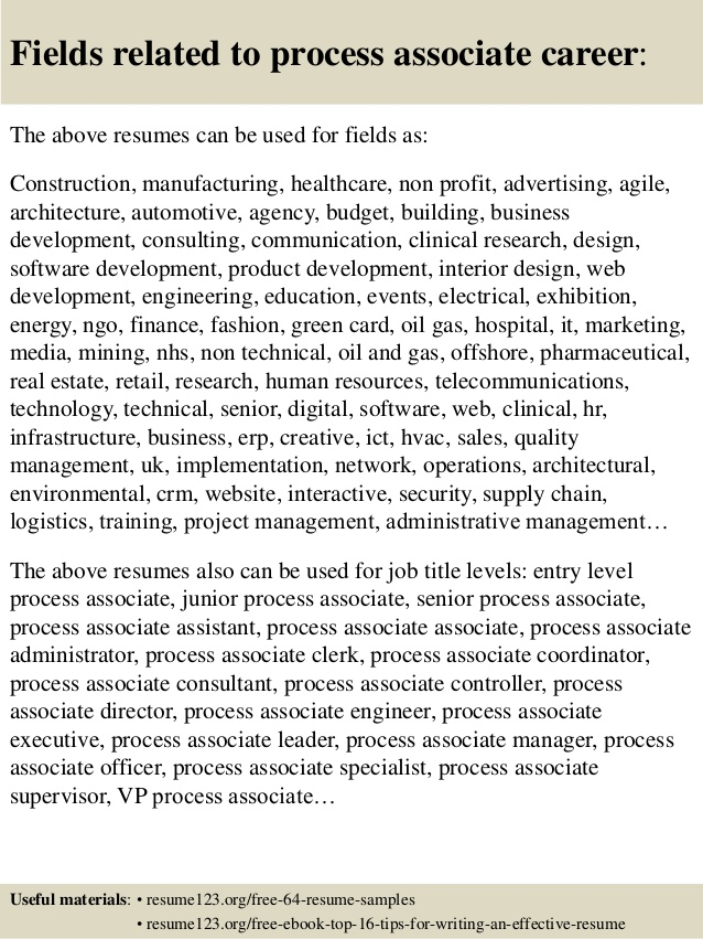bpo non voice resume sample for process top associate samples common skills dsp examples Resume Resume For Voice Process