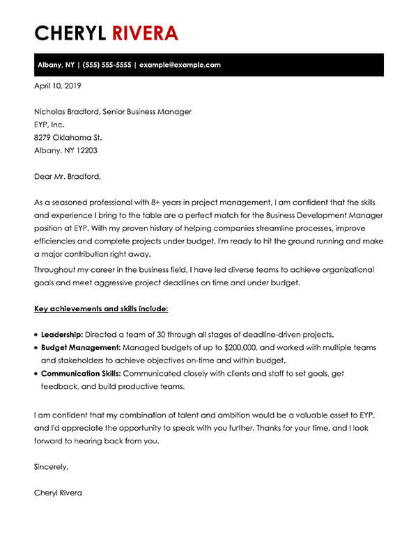 build your cover letter examples myperfectcoverletter resume builder charismatic business Resume Resume Cover Letter Builder