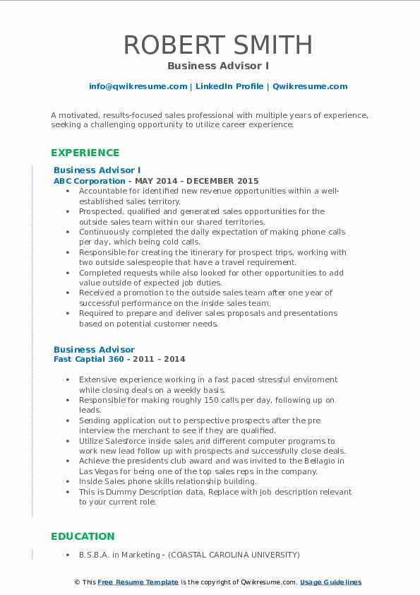business advisor resume samples qwikresume small pdf facilitate synonym official format Resume Small Business Advisor Resume