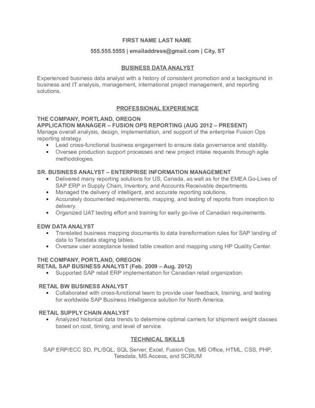 business data analyst resume technical skills typical layout transaction risk Resume Technical Skills Business Analyst Resume