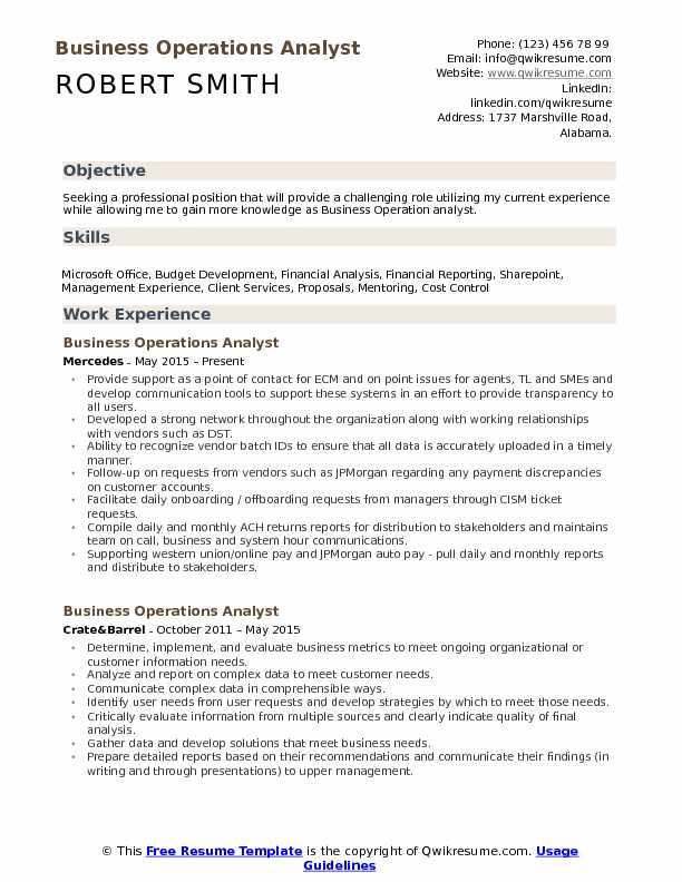 business operations analyst resume samples qwikresume payments pdf look like free review Resume Payments Business Analyst Resume