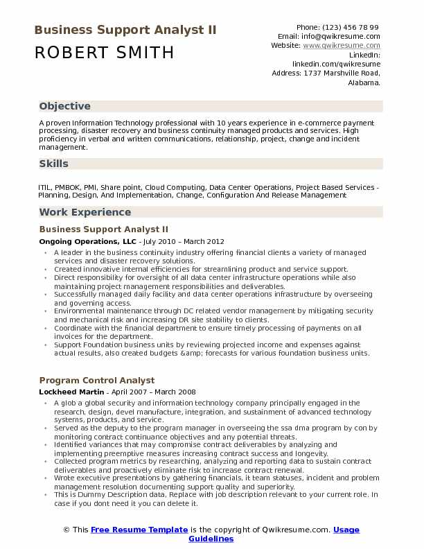 business support analyst resume samples qwikresume project oriented pdf format microsoft Resume Project Oriented Resume