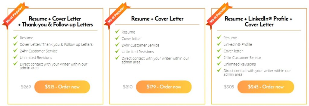careersbooster review resume writing services reviews packages 1024x351 fnp student Resume Resume Writing Packages