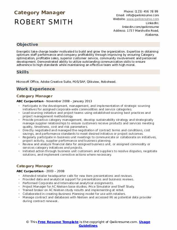 category manager resume samples qwikresume categories skills pdf free professional Resume Resume Categories Skills