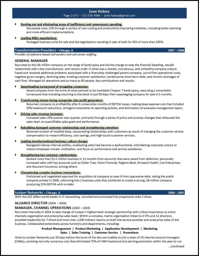 general manager resume examples created by pros myperfectresume for position management Resume Resume For General Manager Position
