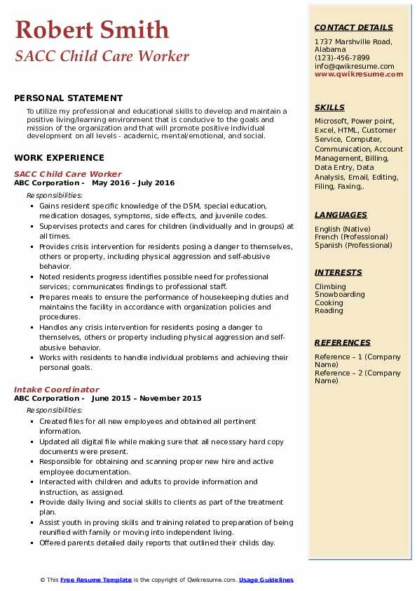 child care worker resume samples qwikresume provider sample pdf military objective contoh Resume Child Care Provider Resume Sample