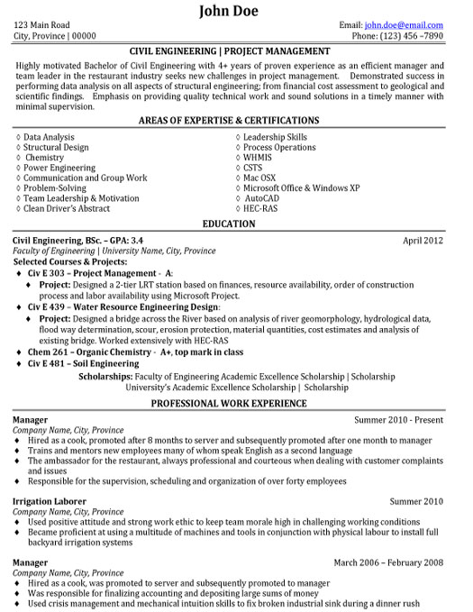 civil engineer resume sample template of experienced student engineering salesforce admin Resume Resume Of Experienced Civil Engineer